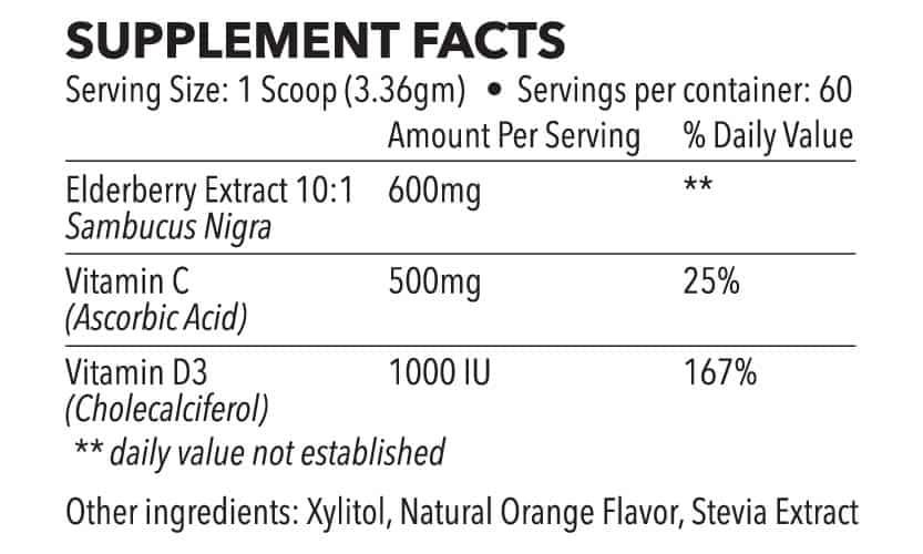 supplement-facts-elderberry-powder-drink-mix